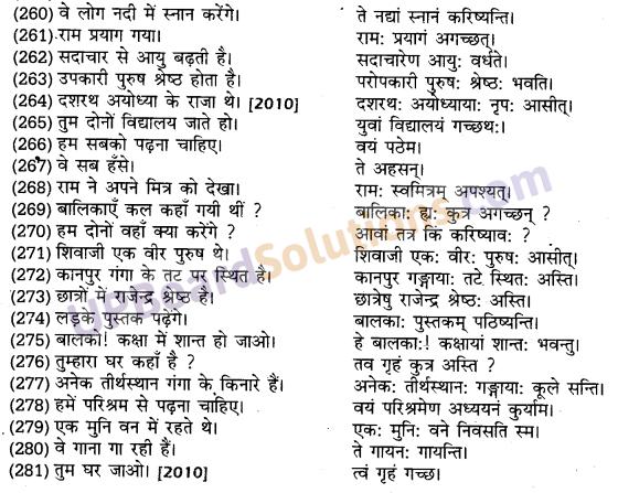 UP Board Solutions for Class 10 Hindi हिन्दी-संस्कृत अनुवाद img-34