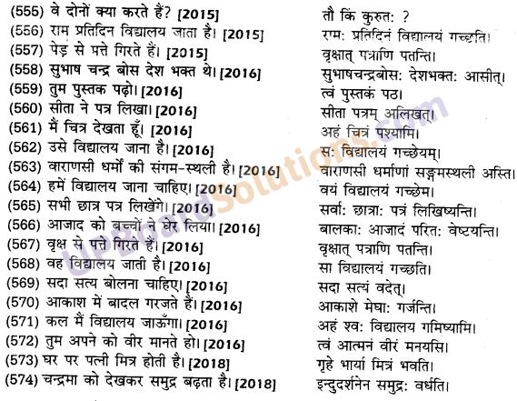 UP Board Solutions for Class 10 Hindi हिन्दी-संस्कृत अनुवाद img-44
