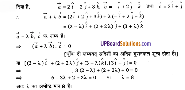 UP Board Solutions for Class 12 Maths Chapter 10 Vector Algebra image 52