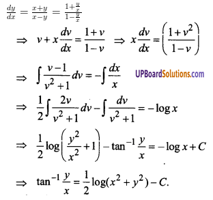 UP Board Solutions for Class 12 Maths Chapter 9 Differential Equations image 78