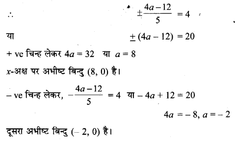 UP Board Solutions for Class 11 Maths Chapter 10 Straight Lines 10.3 5.1