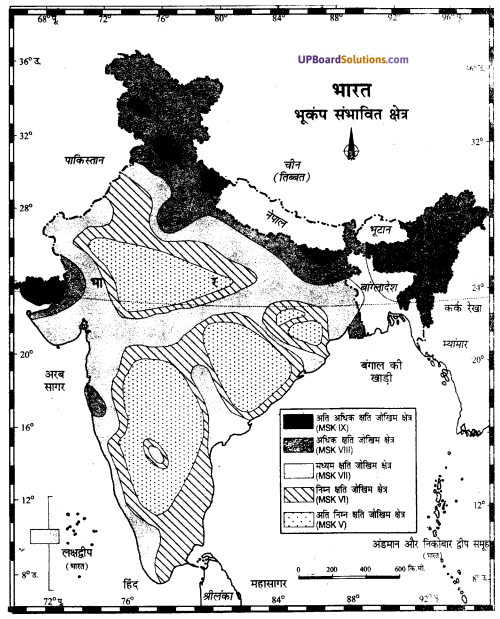UP Board Solutions for Class 11Geography Indian Physical Environment Chapter 7 Natural Hazards and Disasters (प्राकृतिक संकट तथा आपदाएँ) img 21