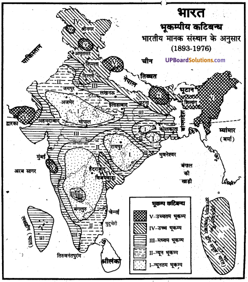 UP Board Solutions for Class 11Geography Indian Physical Environment Chapter 7 Natural Hazards and Disasters (प्राकृतिक संकट तथा आपदाएँ) img 3