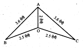UP Board Solutions for Class 6 Maths Chapter 13त्रिभुज 13b 2.1