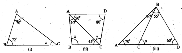 UP Board Solutions for Class 6 Maths Chapter 13त्रिभुज 13f 1