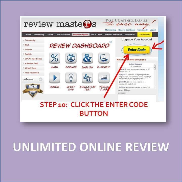 Online UPCAT Review