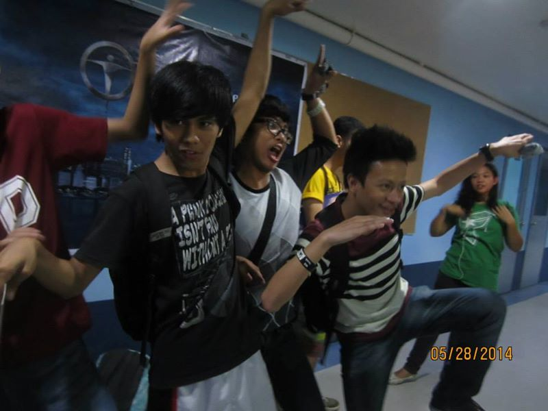 upcat review naga boys having fun