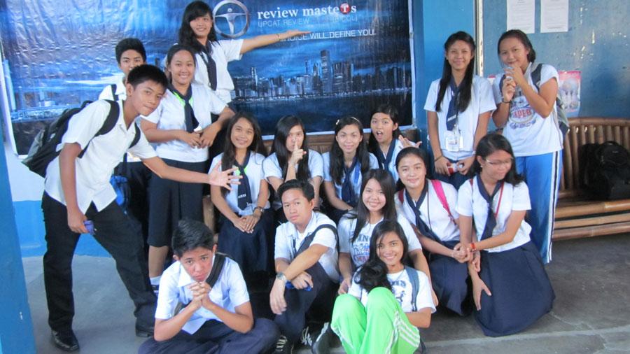upcat review legazpi students from masbate