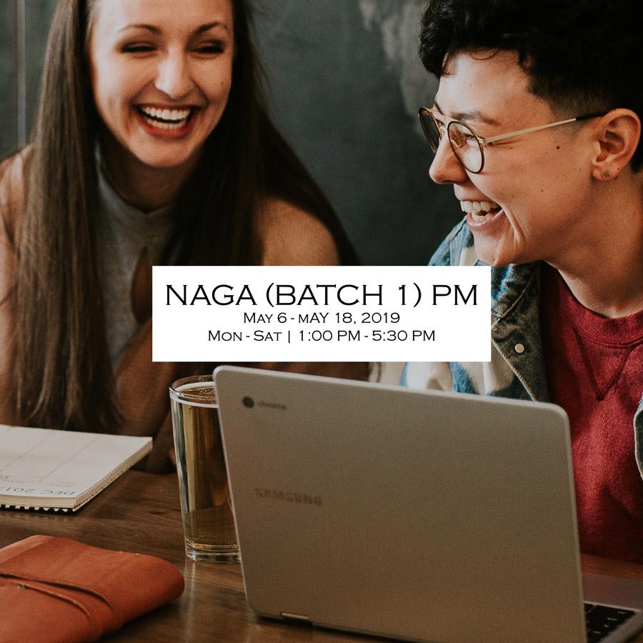 Naga UPCAT Review Plus 2019 Batch 1 PM schedule