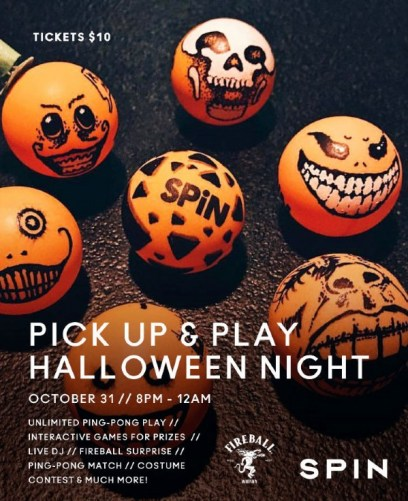 Image result for Halloween Night at SpiN