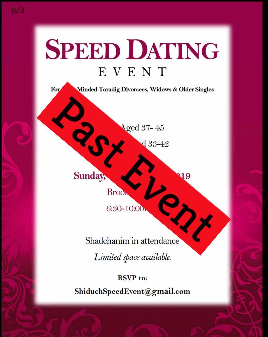 nopeus dating tapahtumat Michiganissa