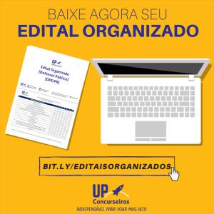 edital organizado da up concurseiros