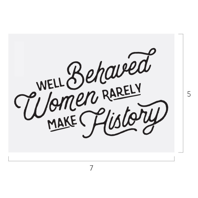 Well Behaved Women CC Transfer