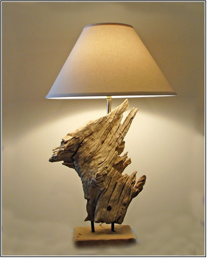 Driftwood Lamp Ideas  Upcycle Art