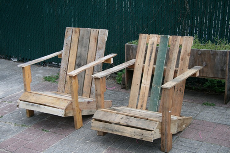 Pallet Upcycled Chairs