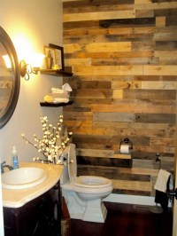 Accent Wall Out Of Wood Pallets | Upcycle Art