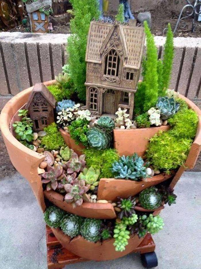 Creative Fairytale Garden Ideas Upcycle Art