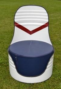 Barrel Metal Upcycled Chairs | Upcycle Art