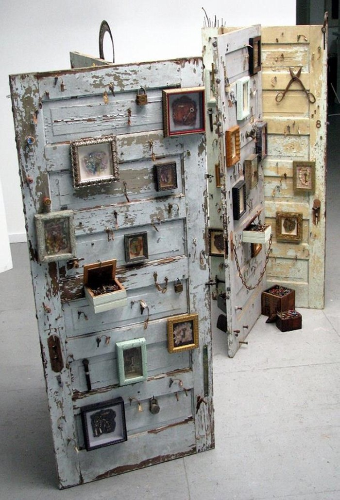 Recycled Wood Doors  Upcycle Art