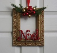 Christmas Decorations with Old Photo Frames | Upcycle Art