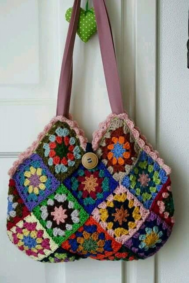Crochet Hand Bag Pattern Project