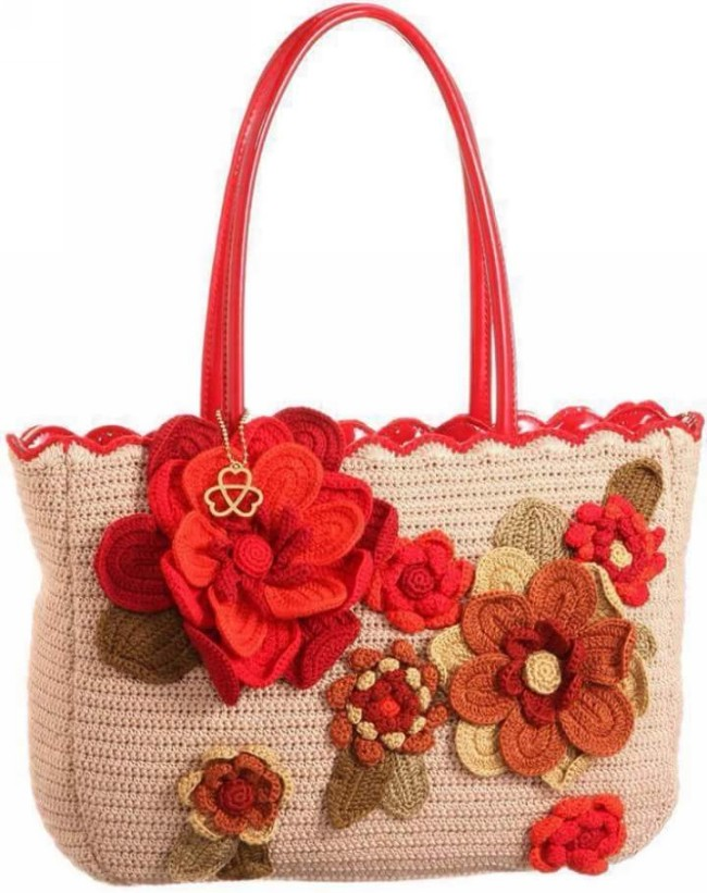 Crochet Hang Bag Pattern Pictures