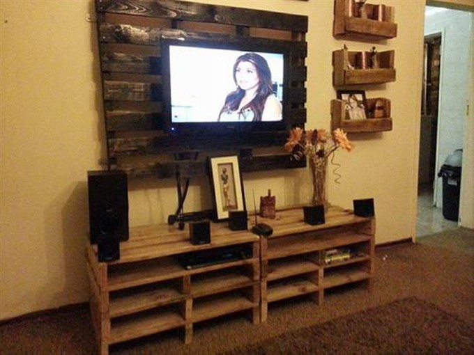 woodworks pallet tv stand ideas