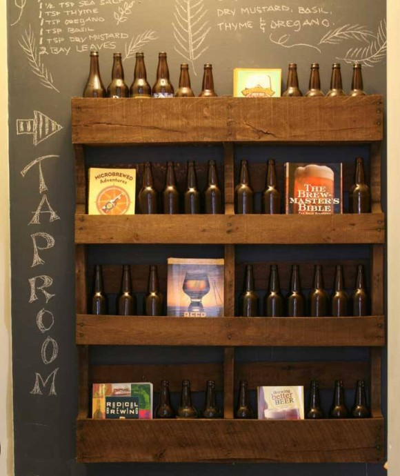 Pallet Wine Racks And Bar Ideas Upcycle Art
