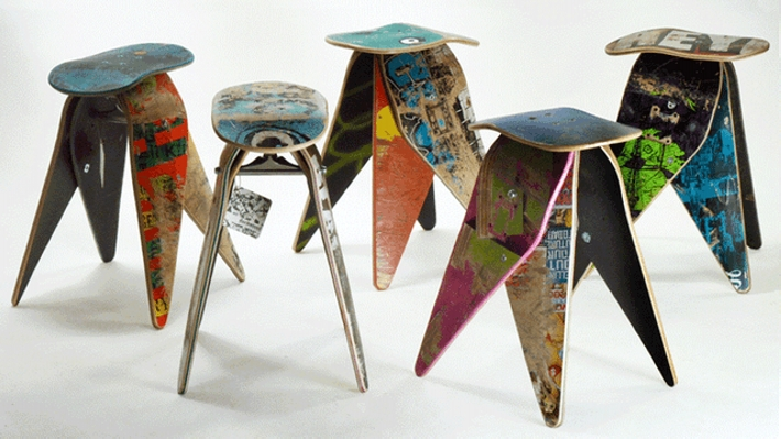 Reuse for Old Skis  Upcycle Art