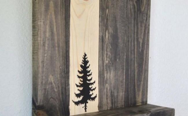 Unique Decorative Pallet Shelf Ideas Upcycle Art