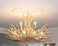 30 Amazing Driftwood Chandelier Ideas | Upcycle Art