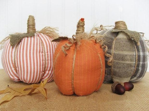 Kết quả hình ảnh cho fabric pumpkins Halloween pillows
