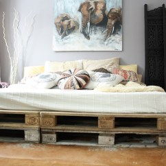 Canape Sofa Cover Stressless 20 Brilliant Wooden Pallet Bed Frame Ideas For Your House
