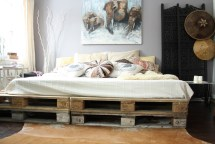 Brilliant Wooden Pallet Bed Frame Ideas House