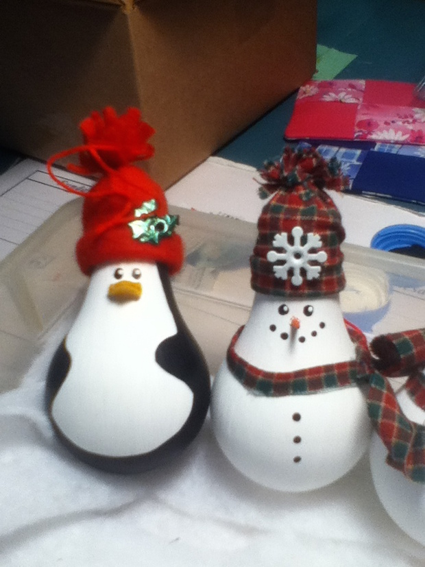 ideas for making christmas ornaments
