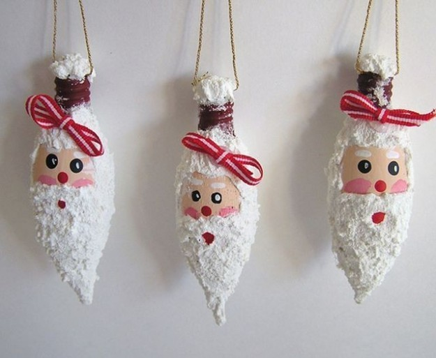 Ornaments Made Light Bulbs