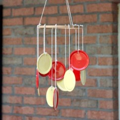 Summer Kitchen Ideas Outside Plans Wind Chime Crafts - 21 Brilliant Upcycled To Make