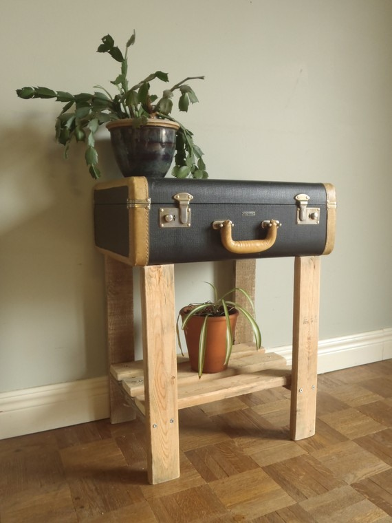 Reuse Old Suitcases  17 Furniture Ideas for Home Decoration