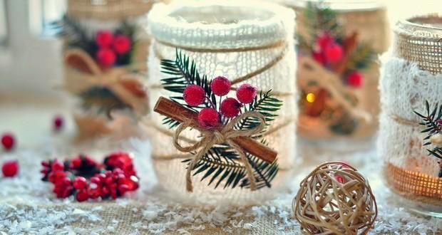vidrio-jar-navidad-DIY-Crafts-arándanos-canela-upcycled-creativas-decoración-ideas