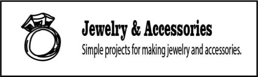 Ideas and tips for making upcycled jewelry and accessories