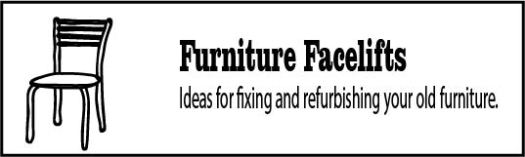 Ideas for fixing old furniture