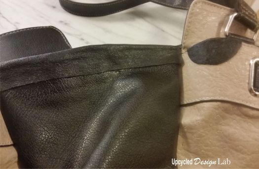 Repaired Purse Close Up