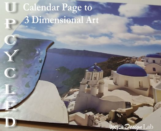 Calendar Pages to 3D Art