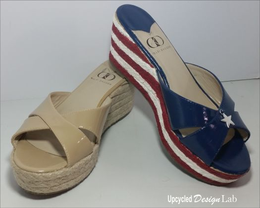 Stars and Stripes Hand Painted Shoes