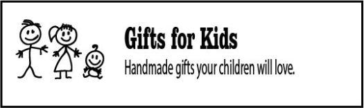 Handmade gifts for kids made from upcycled materials
