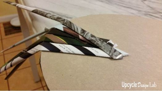 Step 4 Magazine paper hamper