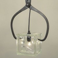 Ice Block Pendant by Conant Metal & Light