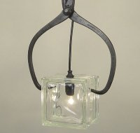 Ice Block Pendant by Conant Metal & Light - upcycleDZINE