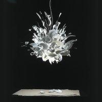 Porca miseria!: porcelain chandelier by Ingo Maurer