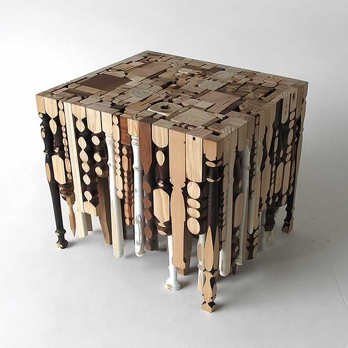 table legs turned inside out gives